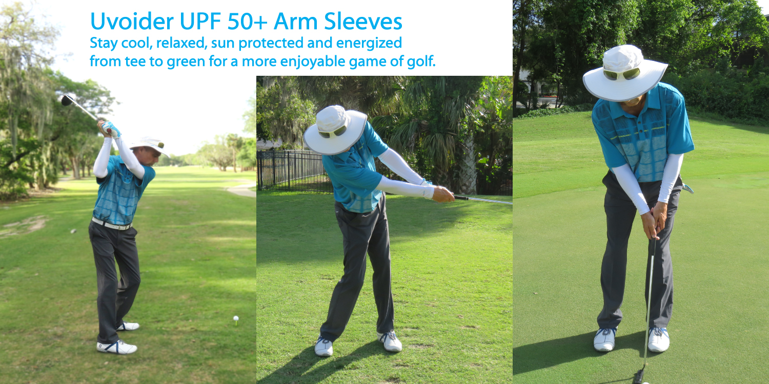Uvoider Golf Arm Sleeves
