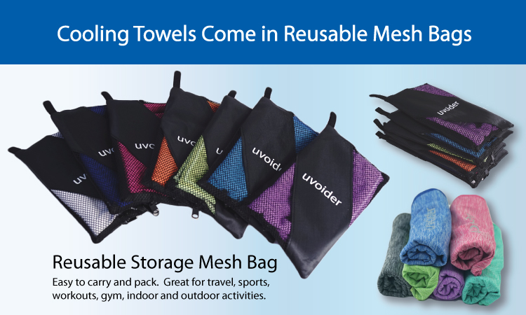 Easy to Pack and Carry Reusable Mesh Bag