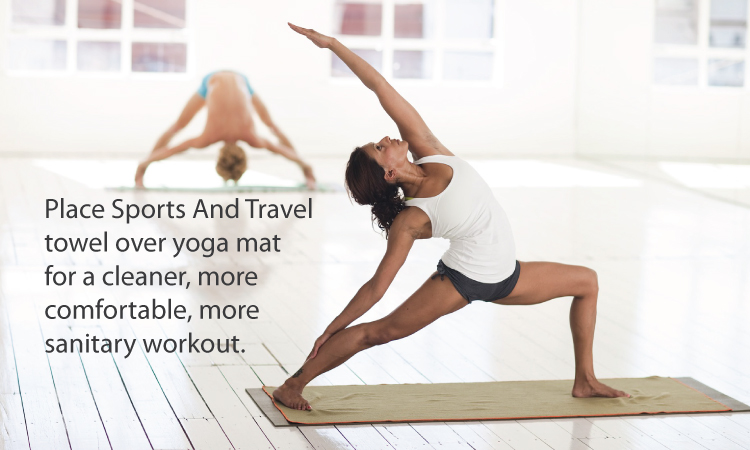 Uvoider Sports and Travel Towels for Yoga